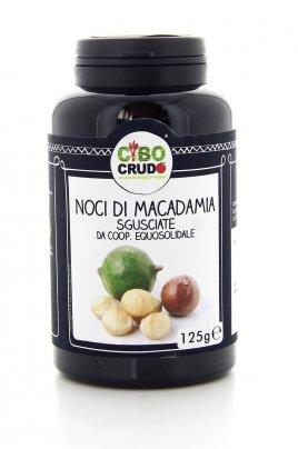 Noci di Macadamia Sgusciate 125 Grammi