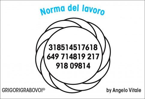 Tessera Radionica 115 - Norma del Lavoro