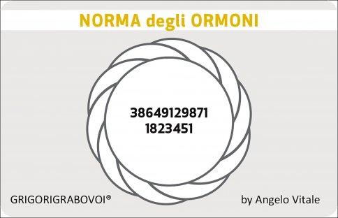 Tessera Radionica 80 - Norma degli Ormoni