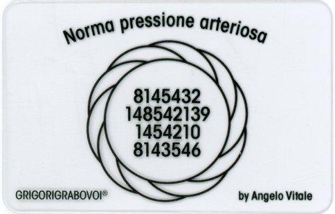 Tessera Radionica 96 - Norma Pressione Arteriosa