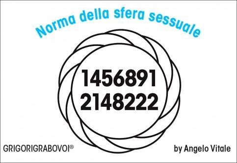 Tessera Radionica 106 - Norma della Sfera Sessuale