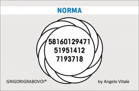 Tessera Radionica 87 - Norma