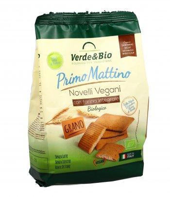Biscotti Novelli Vegani con Farina Integrale - Primo Mattino