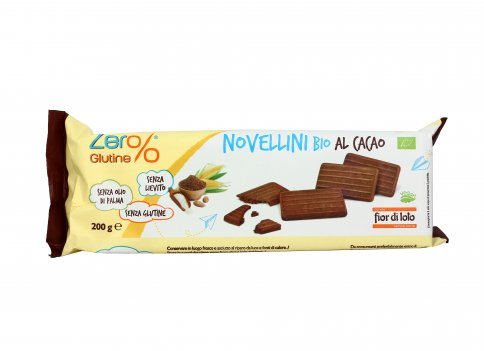 Novellini Bio al Cacao - Senza Glutine