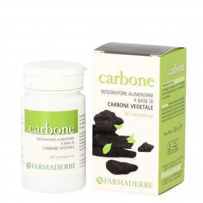 Carbone Vegetale in Compresse