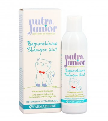 Nutra Junior - Bagnoschiuma Shampoo 2 in 1