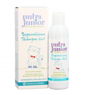 Bagnoschiuma Shampoo 2 in 1 Bambini - Nutra Junior