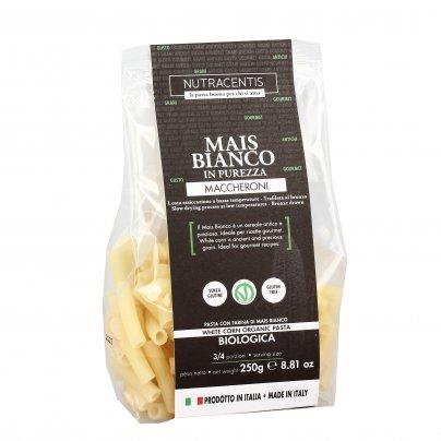 Maccheroni di Mais Bianco Bio - Senza Glutine