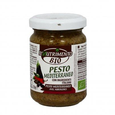 Pesto Mediterraneo Bio con Ingredienti Italiani
