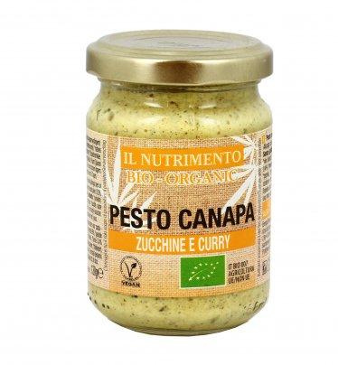 Pesto Canapa Zucchine e Curry Biologici