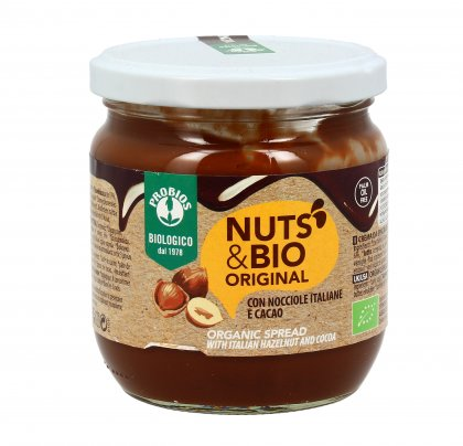 Crema Spalmabile Nocciole e Cacao Senza Glutine - Nuts & Bio Original