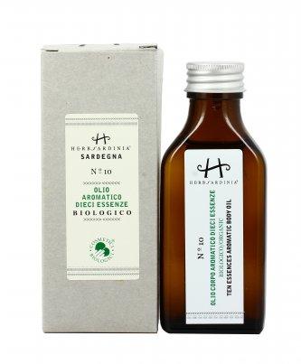 Olio Aromatico alle Dieci Essenze Bio N°10