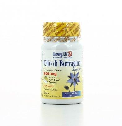 Olio di Borragine - Trofismo della Pelle 500 Mg - 60 Perle