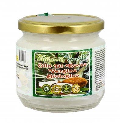 Olio di Cocco Vergine Bio e Raw Food 300 ml