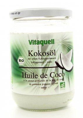 Olio di Cocco Vergine Biologico 400 g.
