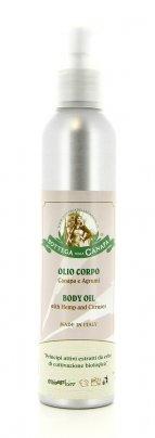 Olio per il Corpo Canapa e Agrumi