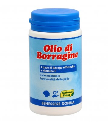 Olio di Borragine - 100 Perle Gelatinose