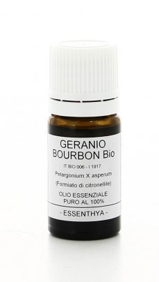 Olio Essenziale - Geranio Bourbon Bio 5 Ml