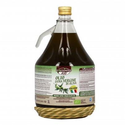 Olio Extravergine di Oliva Biologico 3 Litri