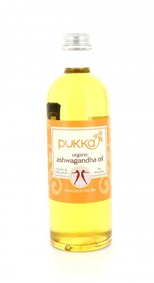 Olio da Massaggio Ashwagandha Flacone 200 ml.