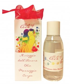 Olio da Massaggio Rosso - Essenza Ylang Ylang