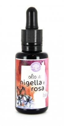 Olio di Nigella e Rosa Bio 30 ml