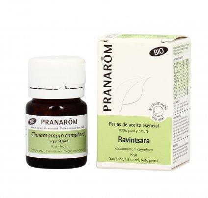 Ravintsara - Perle con Olio Essenziale - Sistema Immunitario e Respirazione
