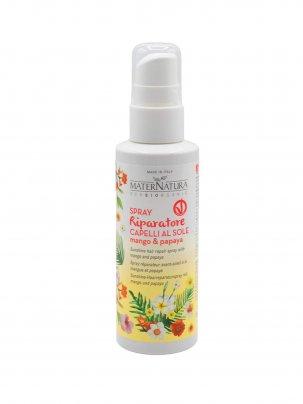 Spray Riparatore Capelli al Sole con Mango e Papaya