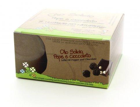 Olio Solido al Pepe e Cioccolato