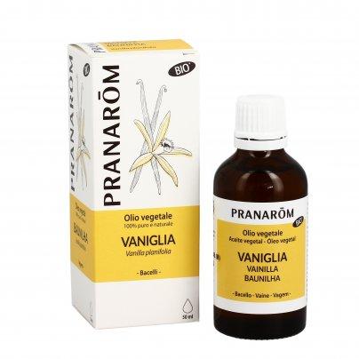 Olio Vegetale Vaniglia 100% Puro e Naturale
