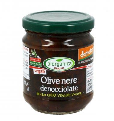 Olive Nere Denocciolate Bio