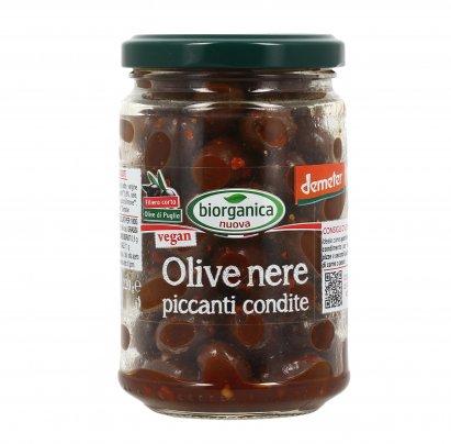 Olive Nere Piccanti Condite