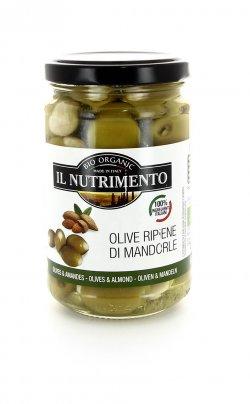 Olive Ripiene di Mandorle Bio - 180 gr.