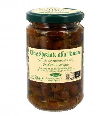 Olive Speziate alla Toscana