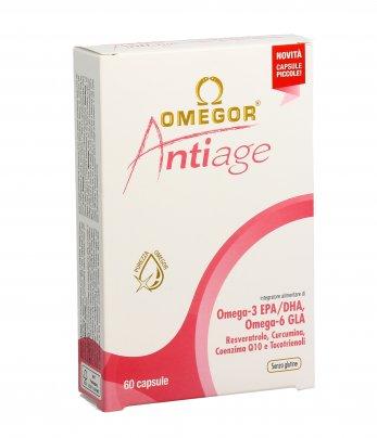 """Omegor """"AntiAge"""" - Contrasto dell'Invecchiamento Precoce"""