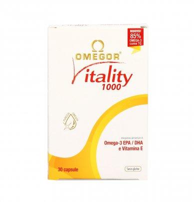 Omegor Vitality 1000 30 perle da 1410 mg