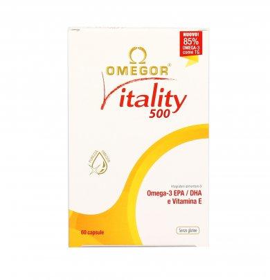 Omegor Vitality 500 - 60 perle