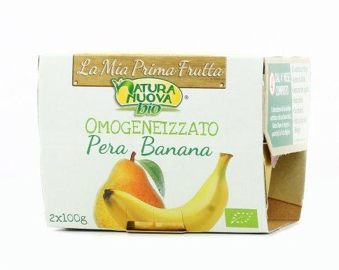 Omogeneizzato Pera e Banana Bio