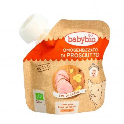 Omogeneizzato Bio di Prosciutto e Patate - Senza Glutine