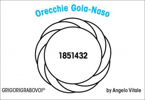 Tessera Radionica 81 - Orecchie-Gola-Naso
