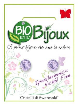 Orecchini Xirius 6,2 mm - Violet