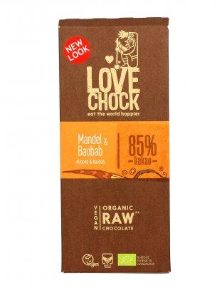 Cioccolato Fondente Bio con Mandorle e Baobab
