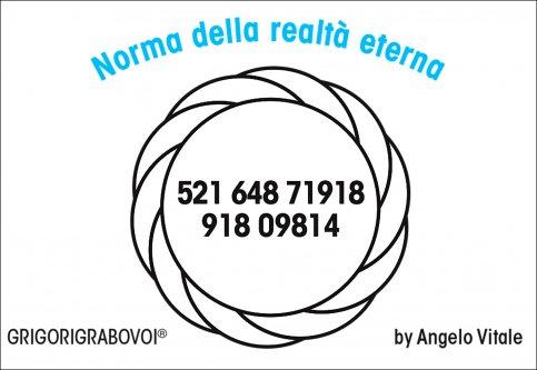 Tessera Radionica 111 - Norma della Realtà Eterna