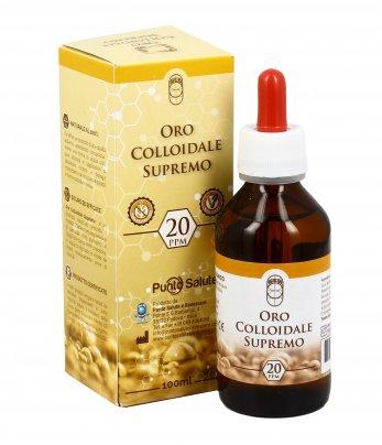 Oro Colloidale Supremo 20 PPm