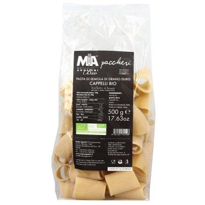Pasta di Grano Duro Cappelli Bio - Paccheri