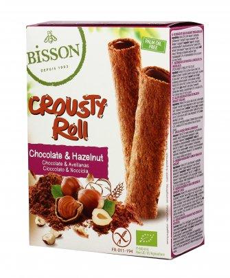 """Cialda Snack al Cacao e Nocciole """"Crousty Roll"""""""