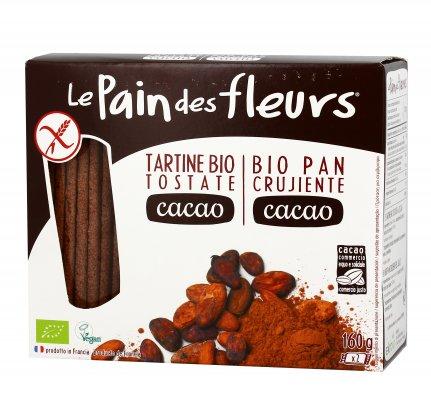 Tartine Bio Tostate al Cacao Senza Glutine