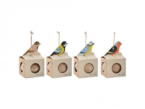 Palla di Grasso Forma Uccellino