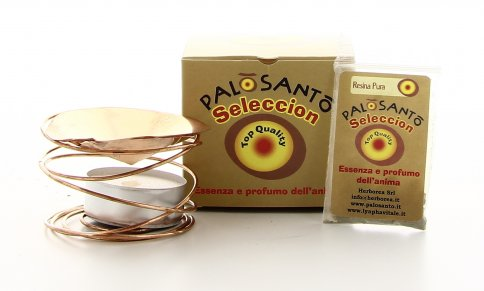 Palo Santo Seleccion Sublimatore con Resina Grande + Candela