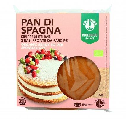 Pan di Spagna Bio con Farina di Grano Italiano